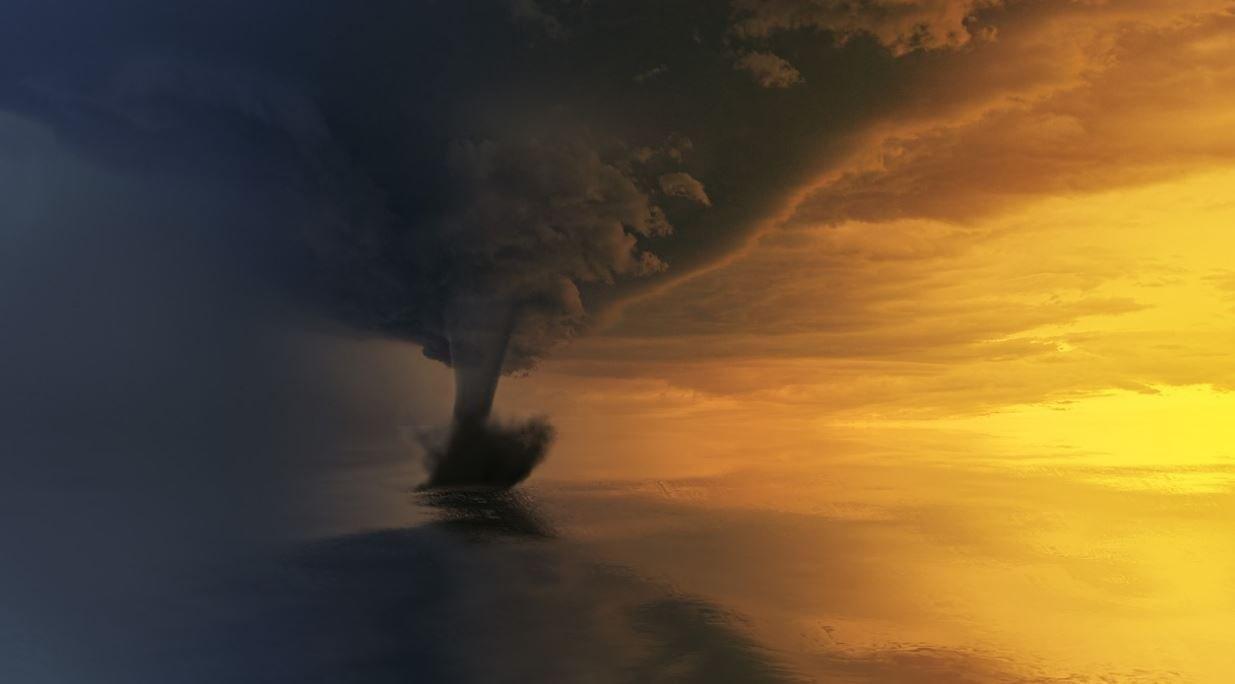 Drømmetydning Tornado