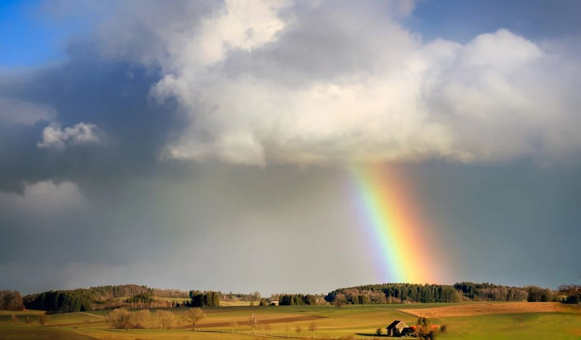Drømmetydning regnbue