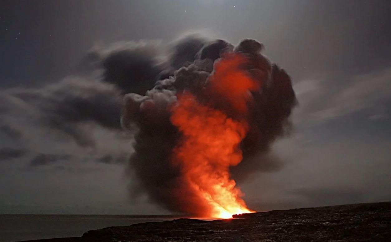 Drømmetydning vulkan