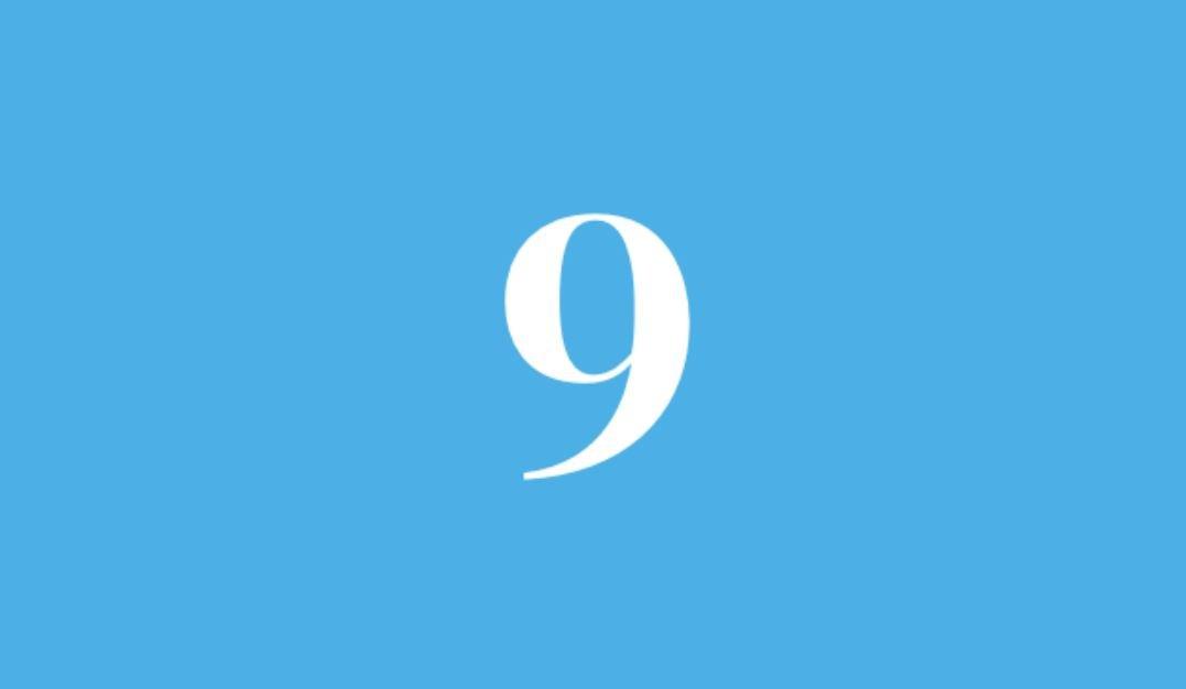 Numerologi 9