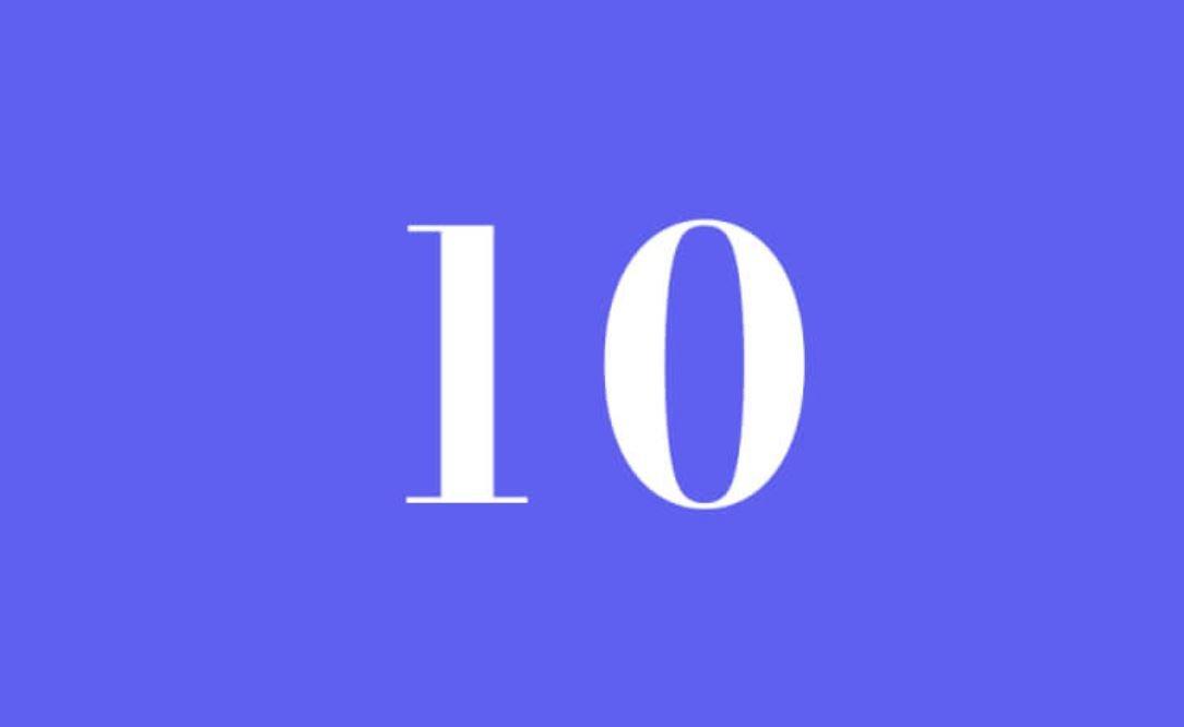 Numerologi 10