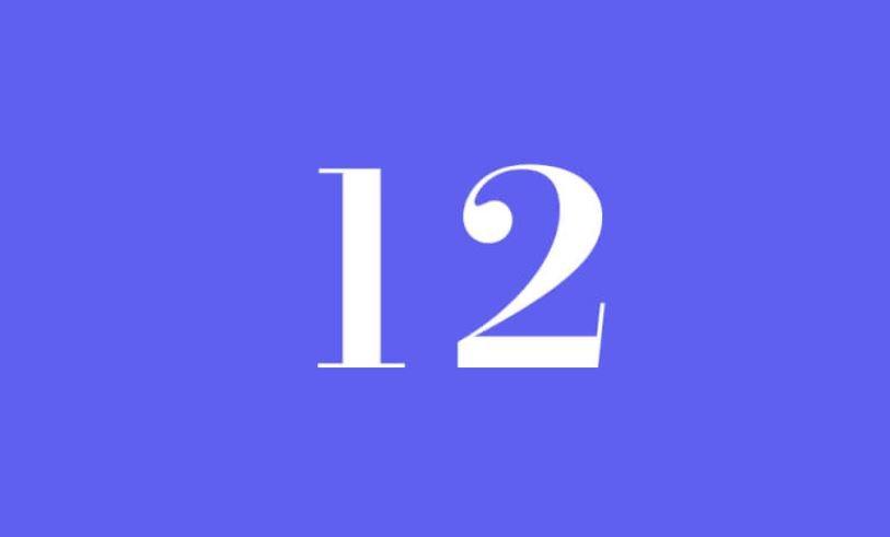 Numerologi 12