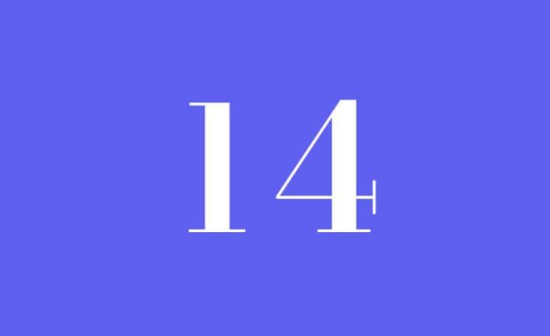 Numerologi 14