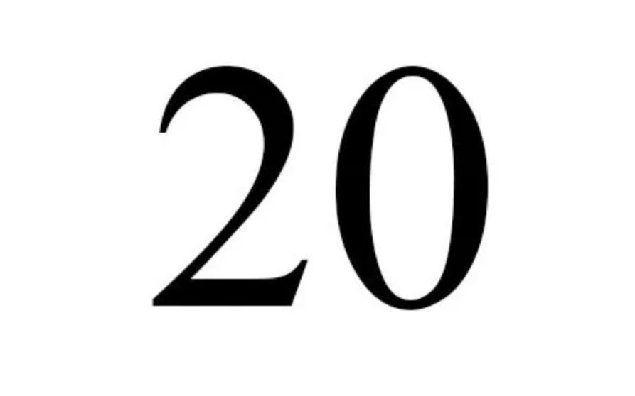 Numerologi 20