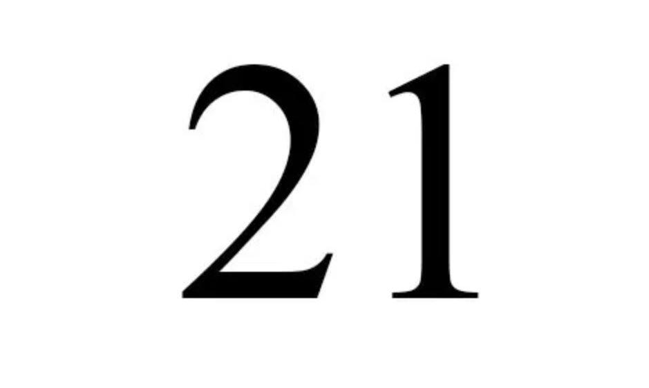 Numerologi 21