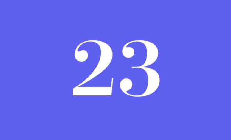 Numerologi 23