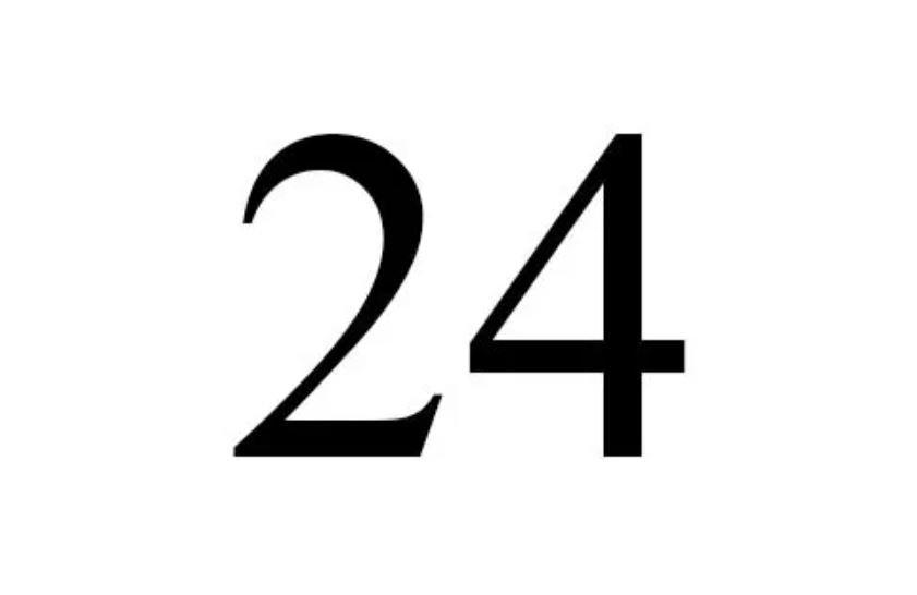 Numerologi 24