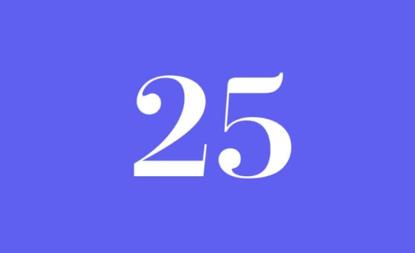 Numerologi 25