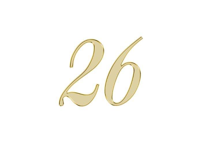 Numerologi 26