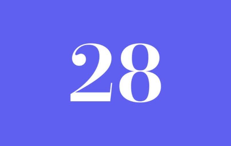 Numerologi 28