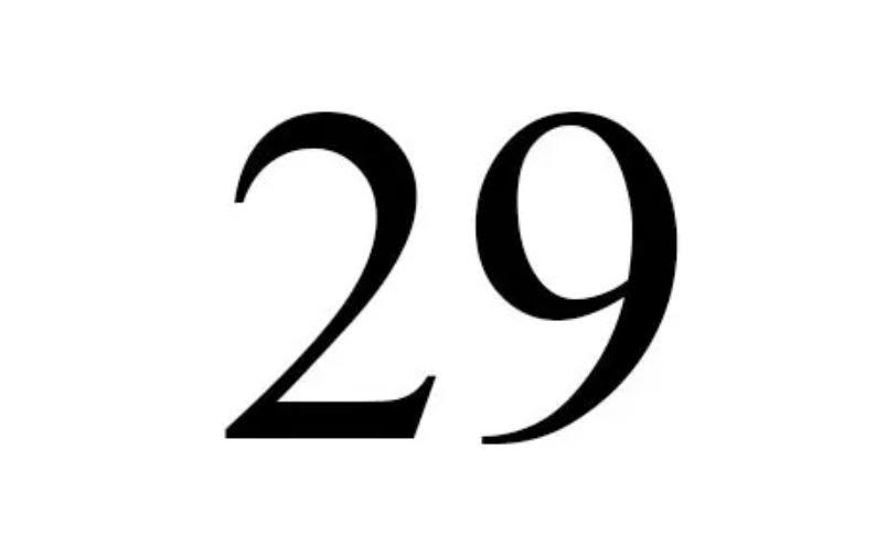 Numerologi 29