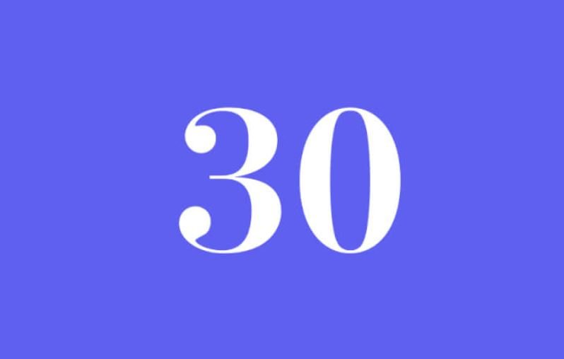 Numerologi 30