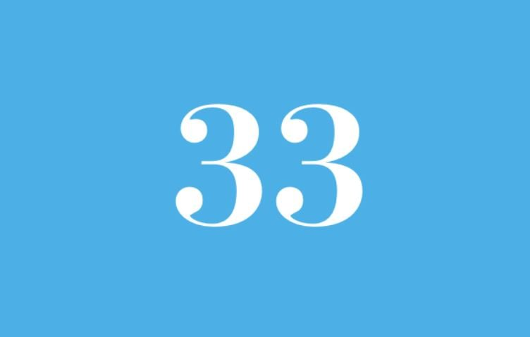 Numerologi 33