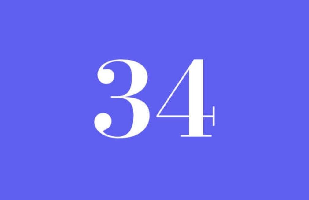 Numerologi 34