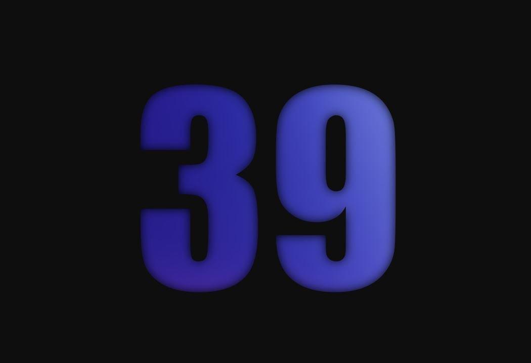 tallet 39 betydning