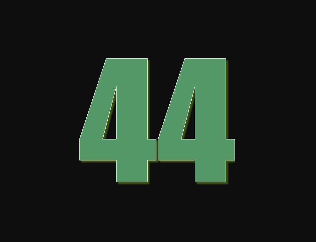 tallet 44 betydning