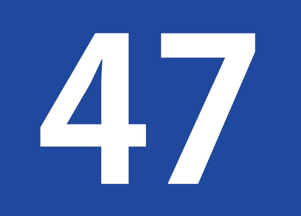 tallet 47 betydning