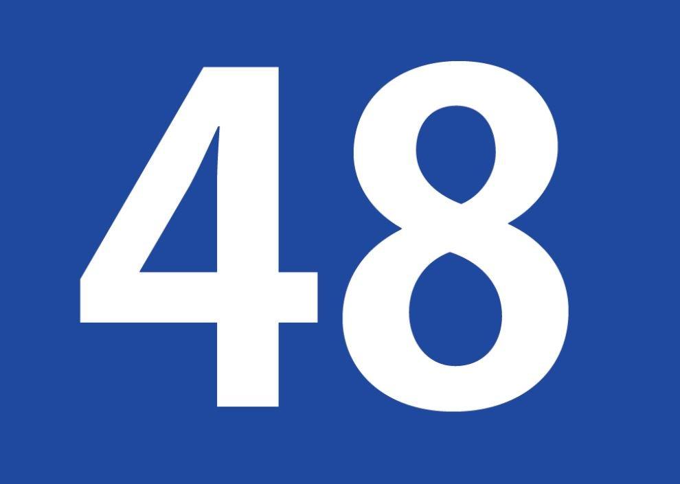 tallet 48 betydning