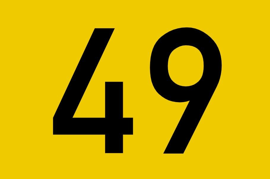 tallet 49 betydning