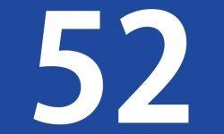 Numerologi: tallet 52 betydning