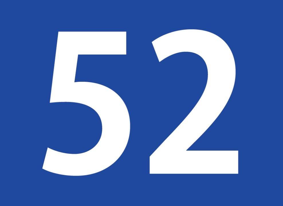 tallet 52 betydning
