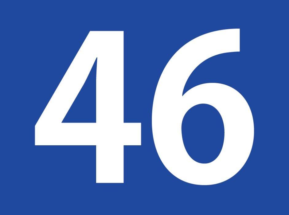 tallet 46 betydning