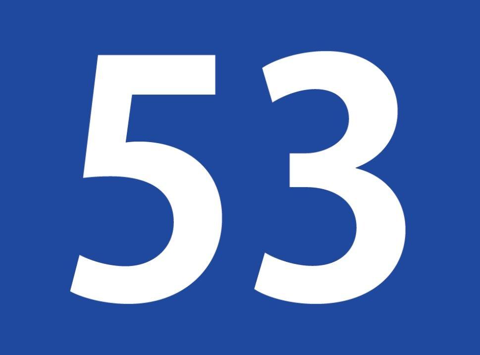 tallet 53 betydning