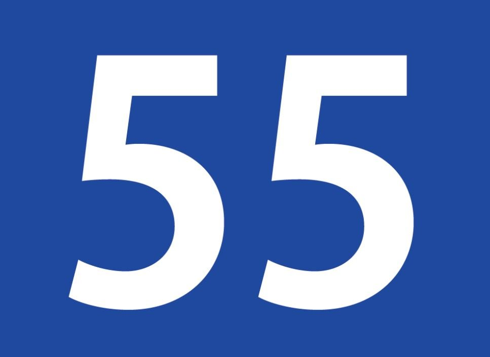 tallet 55 betydning