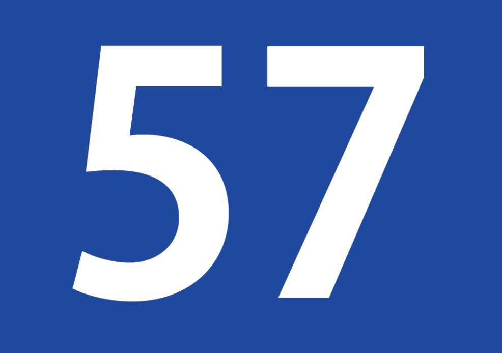 tallet 57 betydning