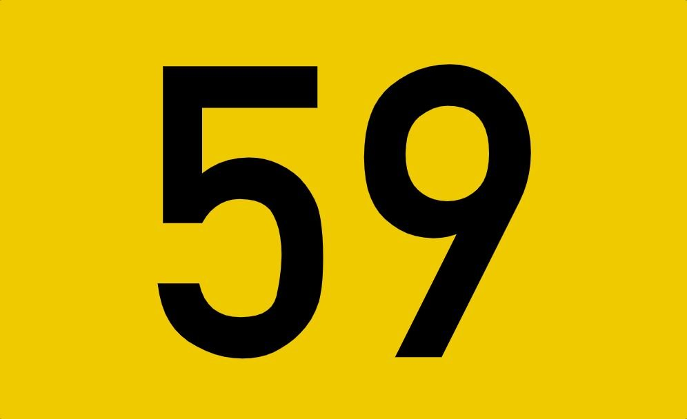 tallet 59 betydning