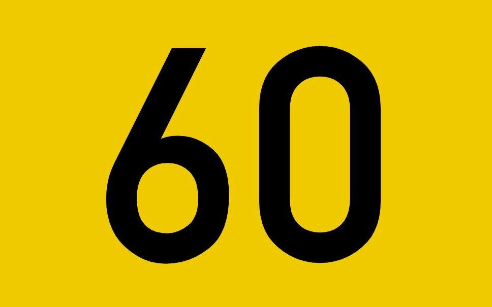 tallet 60 betydning