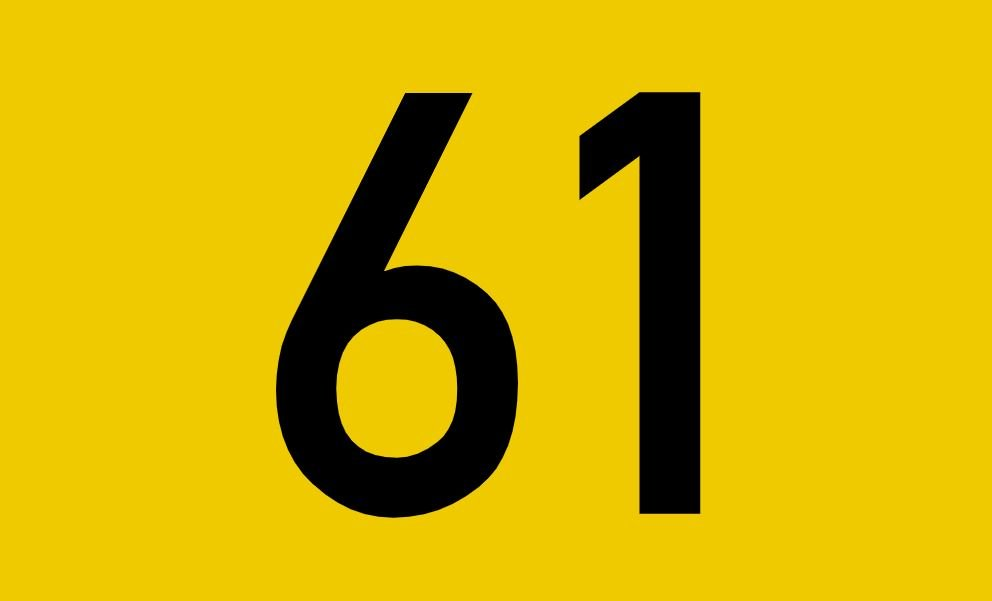 tallet 61 betydning
