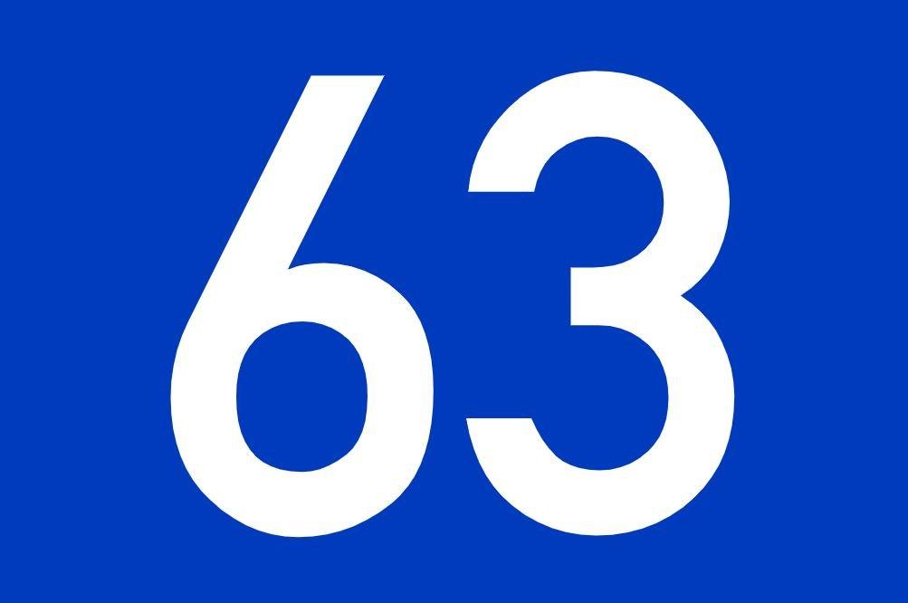 tallet 63 betydning