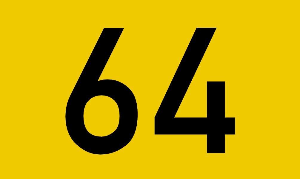 tallet 64 betydning
