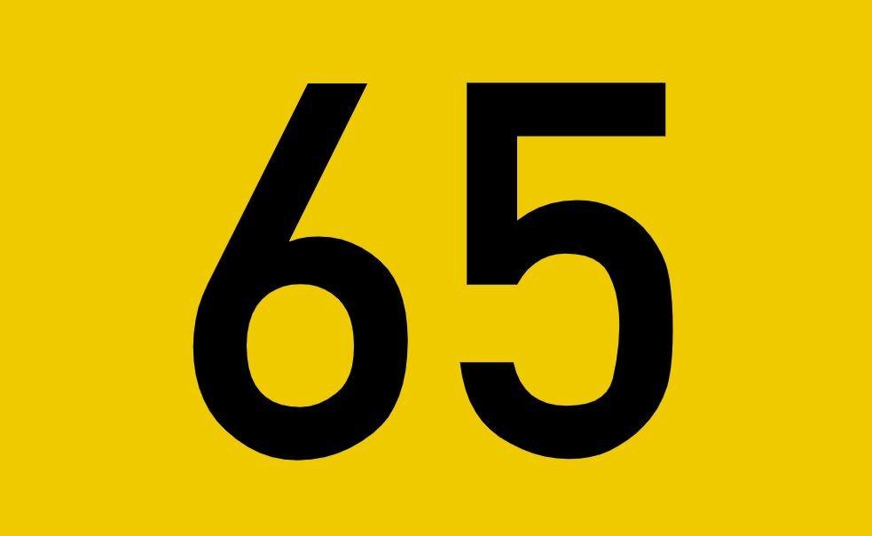 tallet 65 betydning