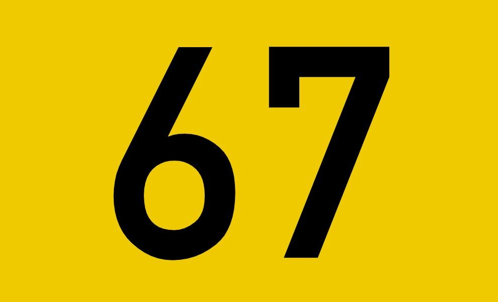 tallet 67 betydning