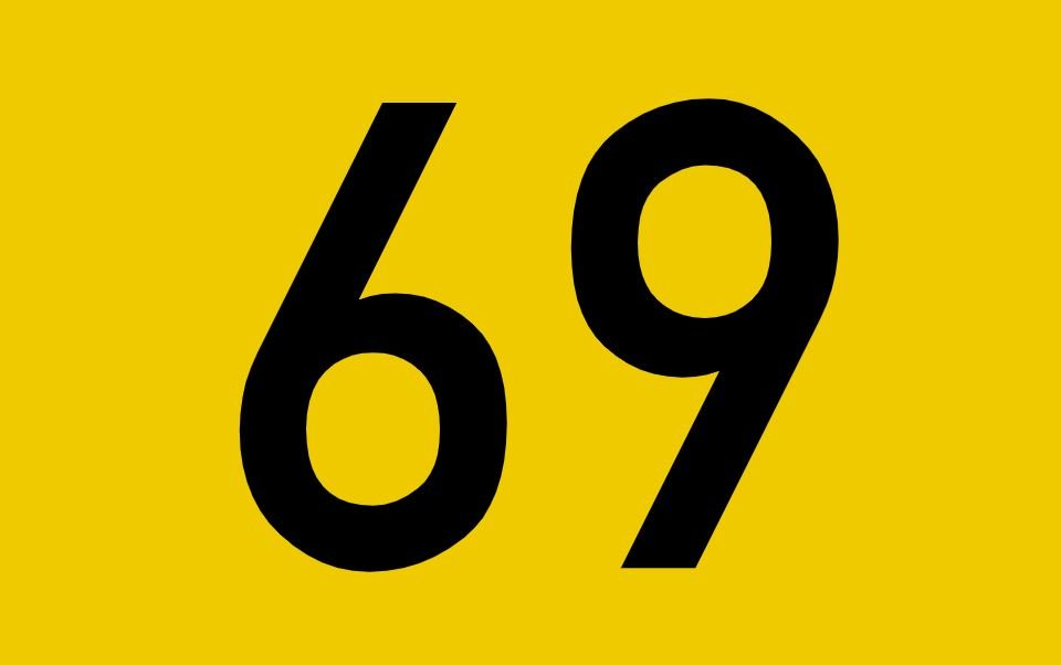 tallet 69 betydning