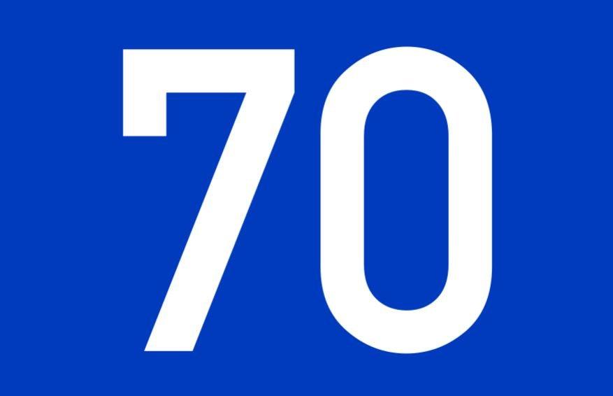tallet 70 betydning