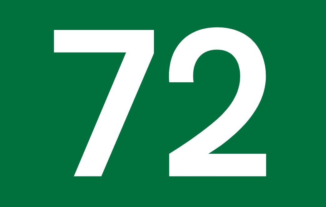 tallet 72 betydning