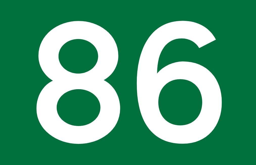 Numerologi 86