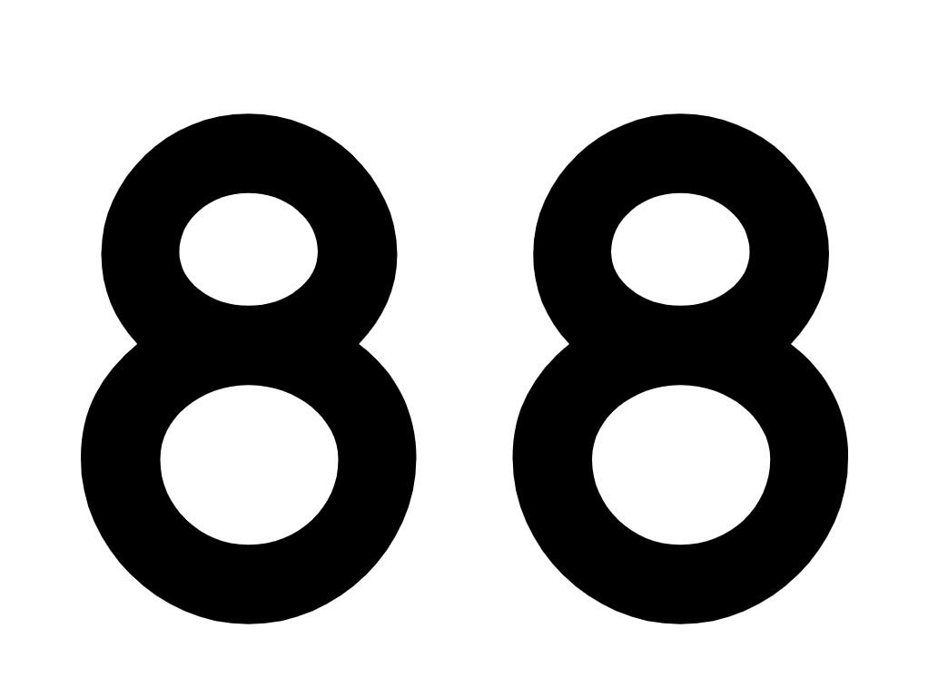 Numerologi 88