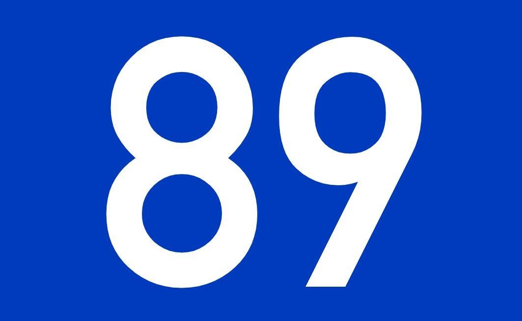 Numerologi 89