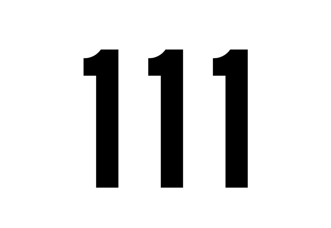 tallet 111 betydning
