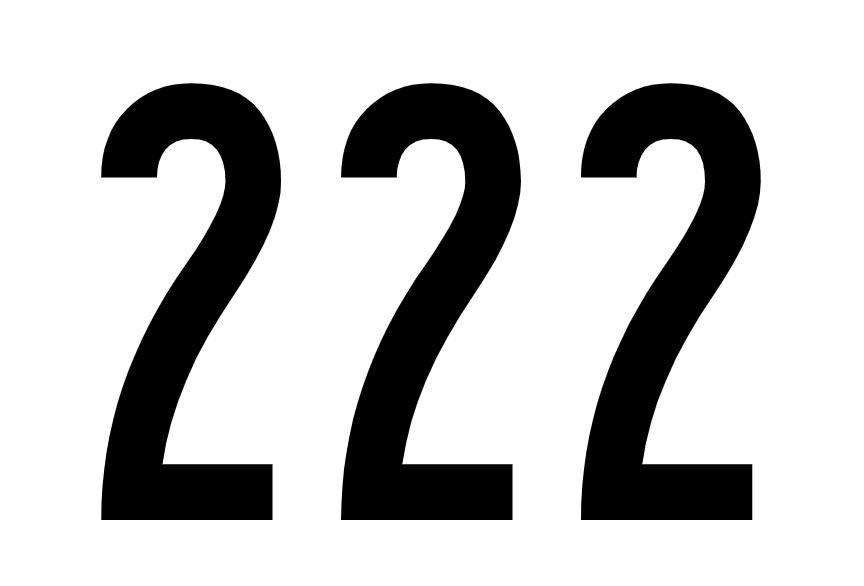 tallet 222 betydning