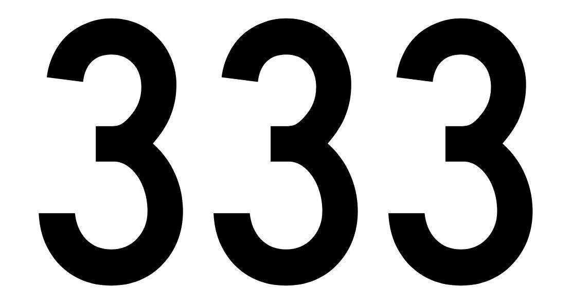 tallet 333 betydning